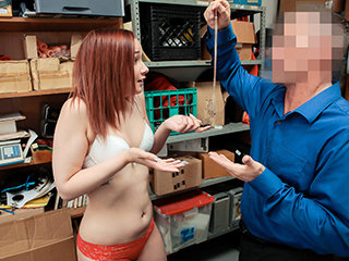 Hot red head gets fucked