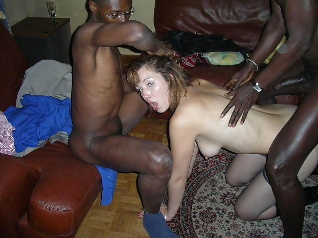 naked girl having sex with one man