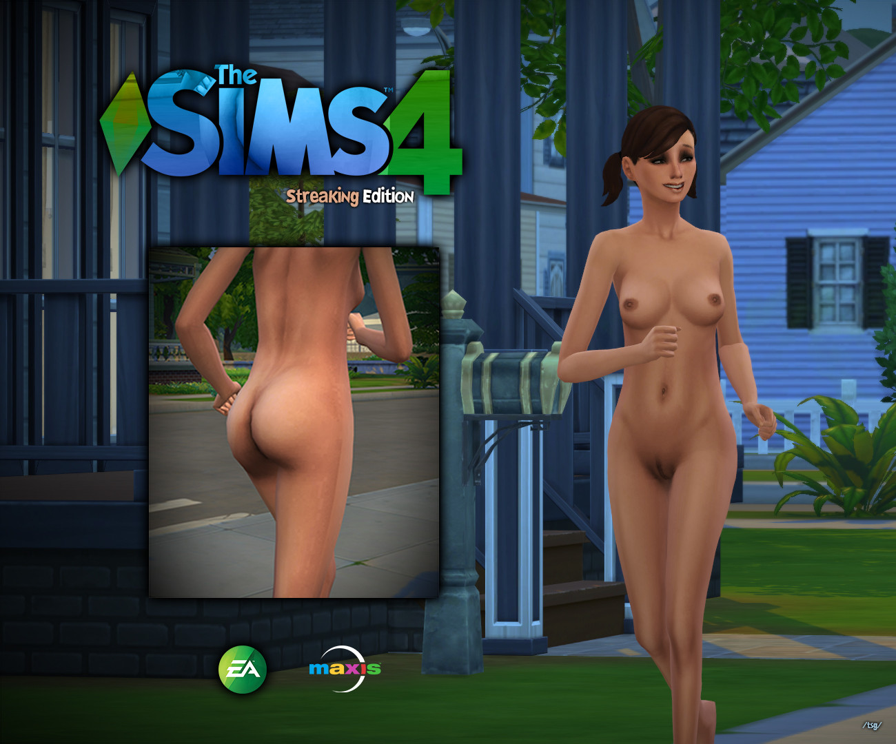 Sexy naked sims